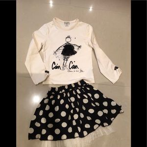 Gorgeous top and skirt